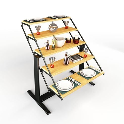 swing table rigged 3d model max obj mtl fbx mat 1