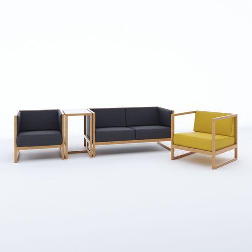 Living Room Furniture Ton Casablanca Set 3D Model