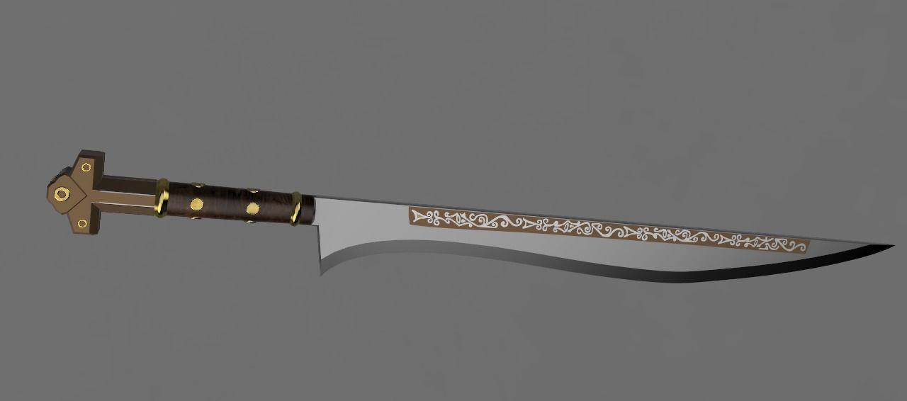 Assassins Creed Calamity Blade 3d Printable Model 2
