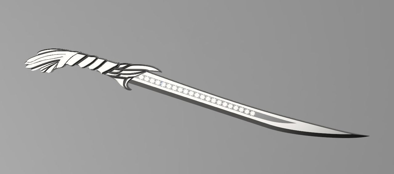3d Print Model Altair Short Blade From Assassins Creed 1