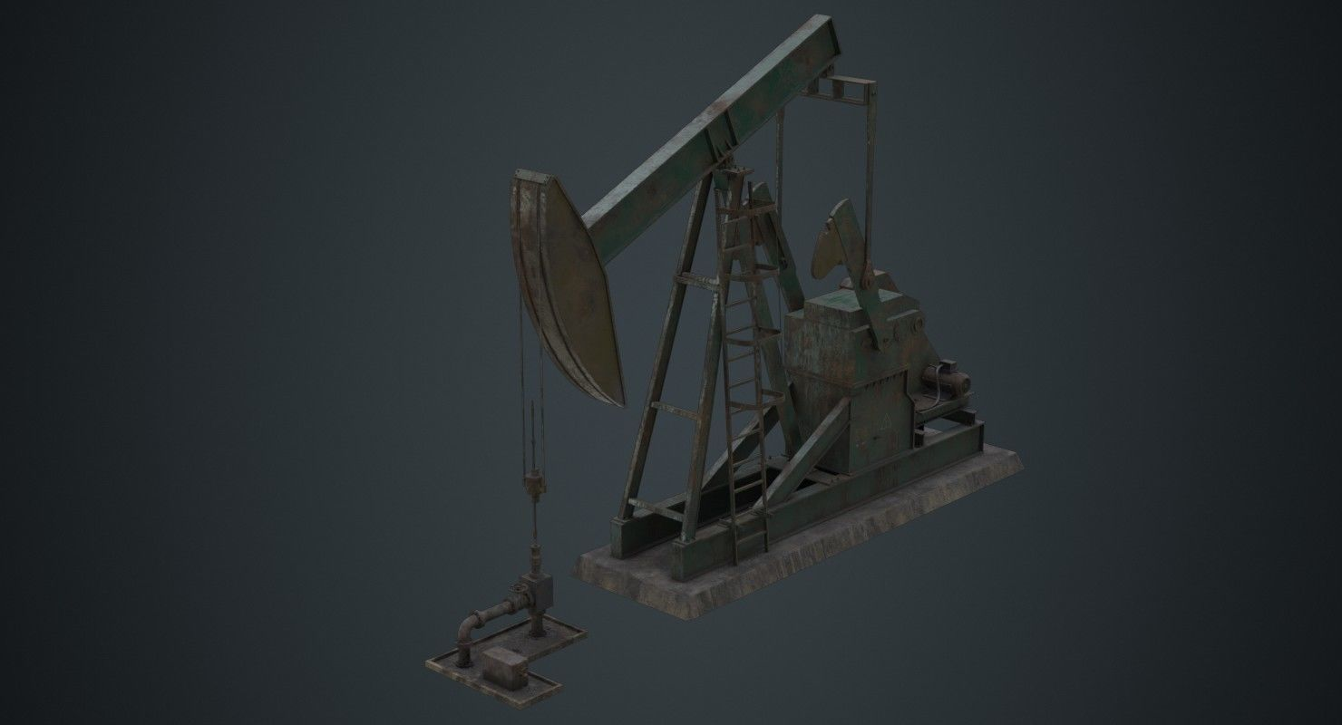 Oil Pumpjack 1B