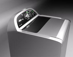 3D model Whirlpool Cabrio Platinum washer