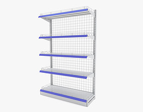 3D Supermarket - Single Shelf