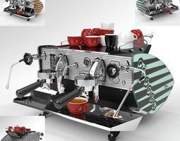 3D model Kees van der Westen Coffee Machine Mirage 2 2