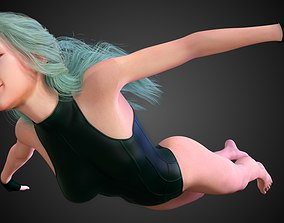 AquaGirl - Batman Beyond 3D model