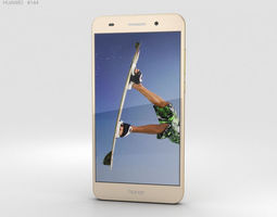 Huawei Honor 5A Gold 3D