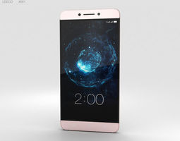 LeEco Le Max 2 Rose Gold 3D model