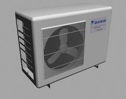 3D asset Air Conditioner Fan