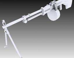 3D RPD Machine Gun