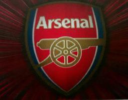Arsenal logo 3D model champion