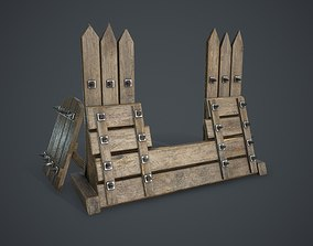 3D asset realtime Barricade old