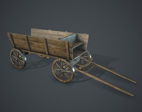 Wagon 3D model realtime
