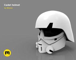 3D printable model Imperial Cadet helmet