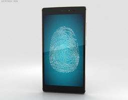 3D Micromax Canvas 6 Golden