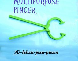 3d print model multipurpose pincer