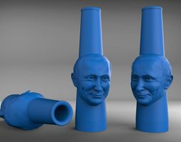 3D printable model Putin hookah mouthpiece
