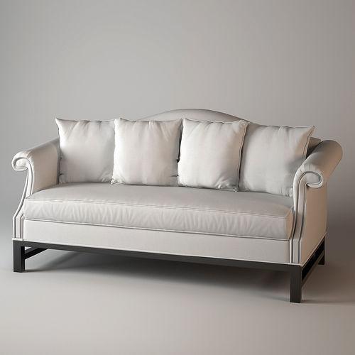 Delicieux Eichholtz Four Seasons Sofa 3D Model