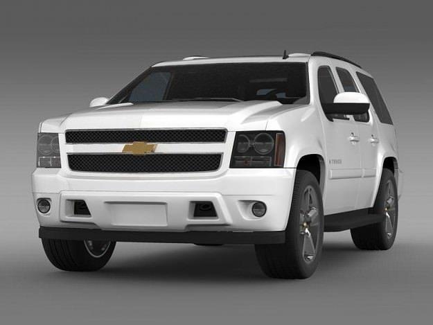 Exceptional Chevrolet Tahoe LTZ 2007 3D Model