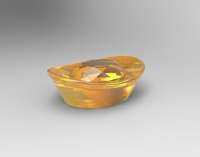 Chinese Gold Money Diamond 3D printable model