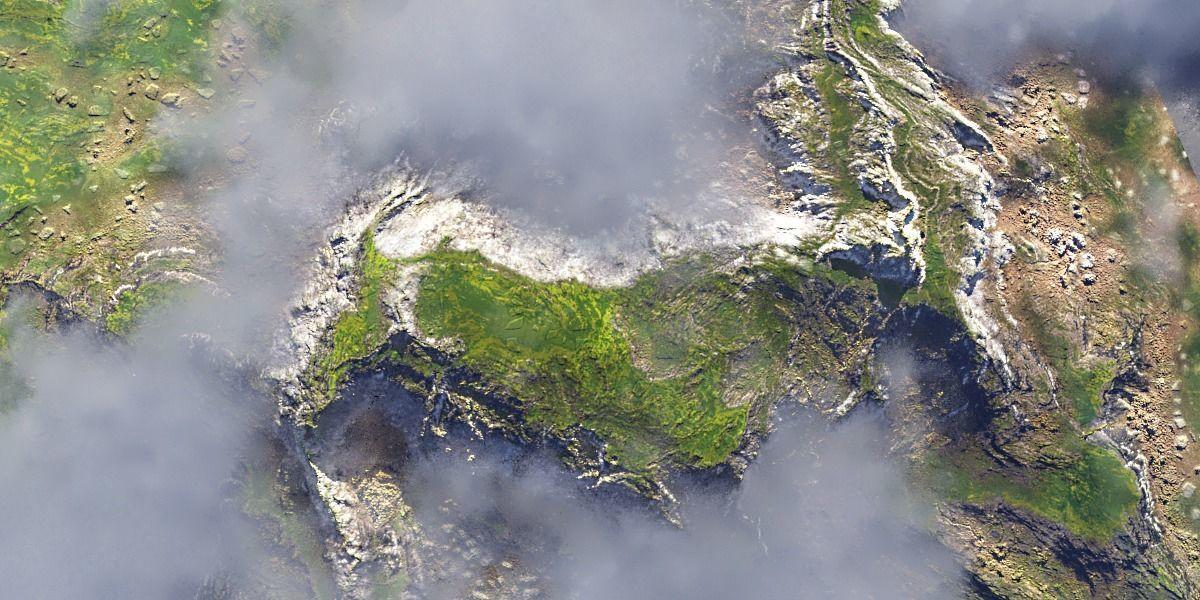 PBR Cinematic Highlands Landscape
