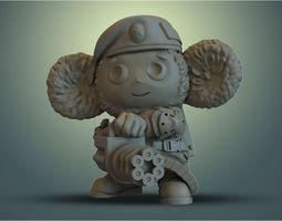 cheburashka VDV 3D printable model