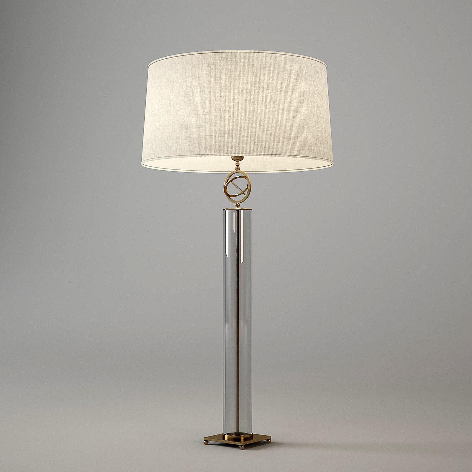Baker Orb Table Lamp Ph166g 3d Model Max Obj Mtl 3ds Fbx Dxf Dwg 1 ...