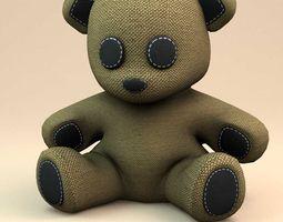 Little teddy bear 3D Model