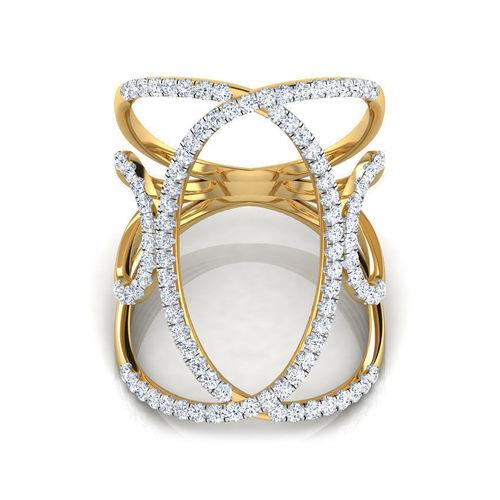 multi loop wide ring 3d model obj mtl fbx stl 3dm 1