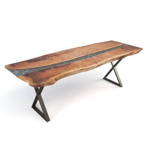 live edge river table 3d model max obj mtl fbx mat 1