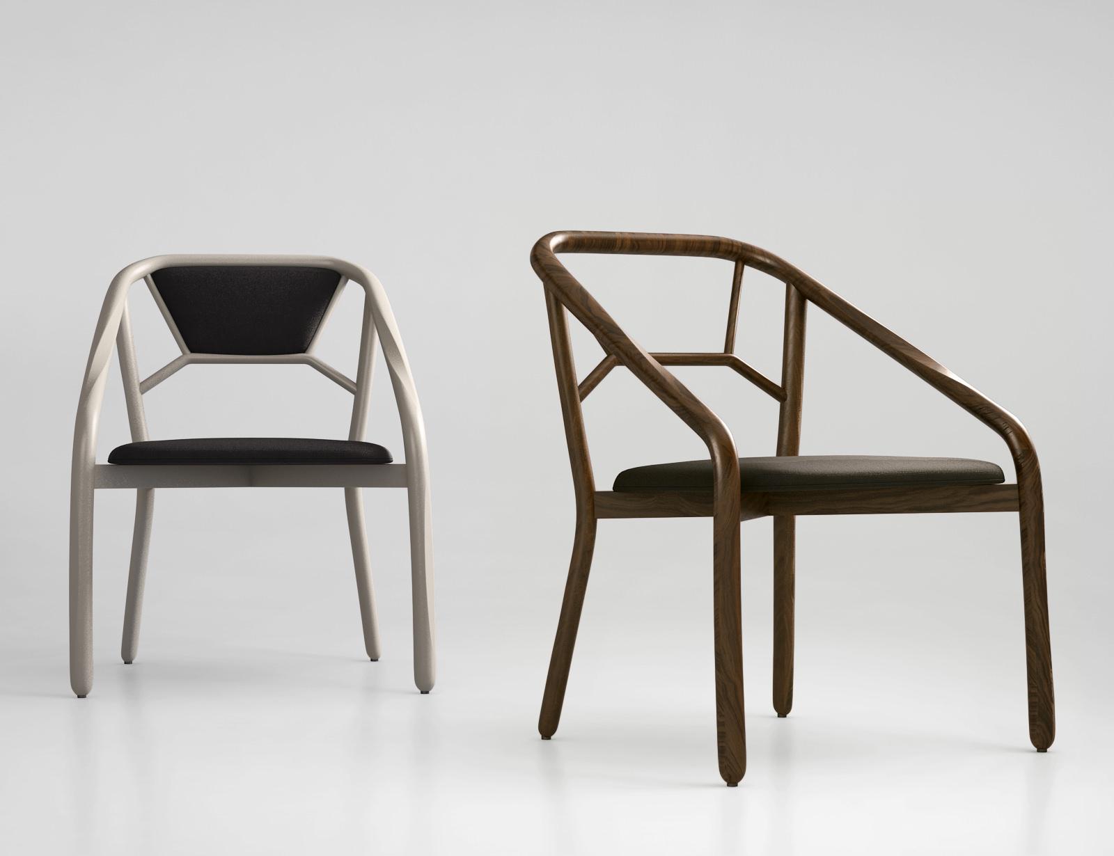 Alma Design Marnie Chair 3d Model Max Obj Mtl 1 ...