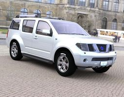 Pathblazer SUV for DAZ Studio 3D model