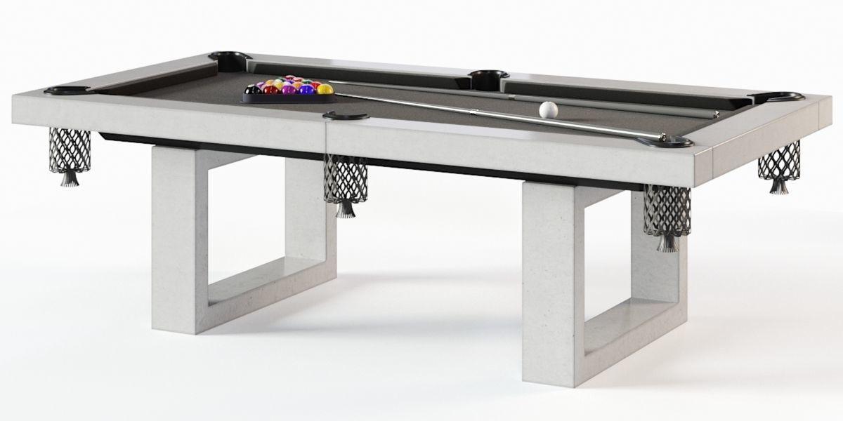 Charmant James De Wulf Pool Table 3d Model Max Obj Fbx 1 ...