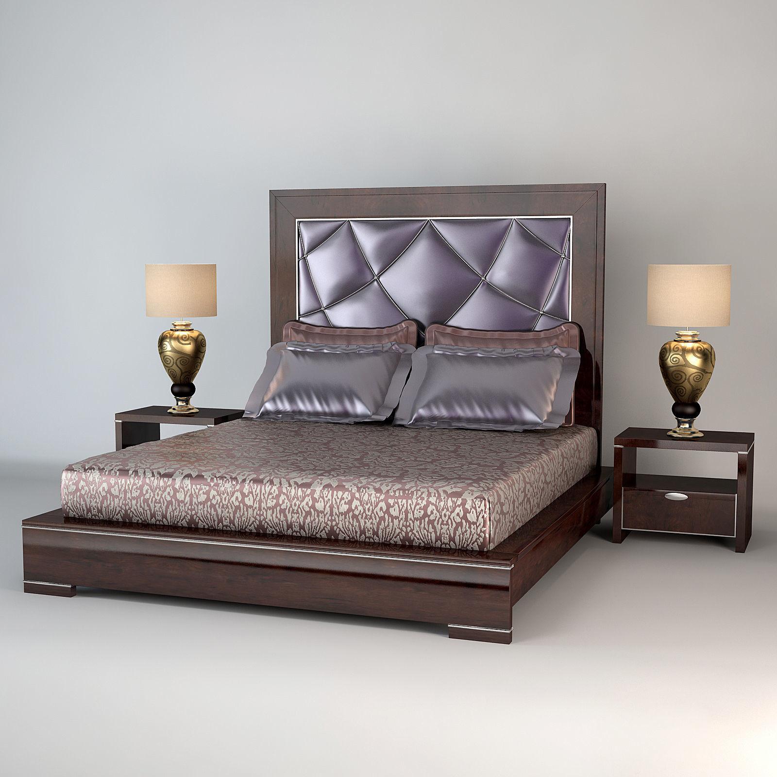 Art Deco Bedroom 3D model