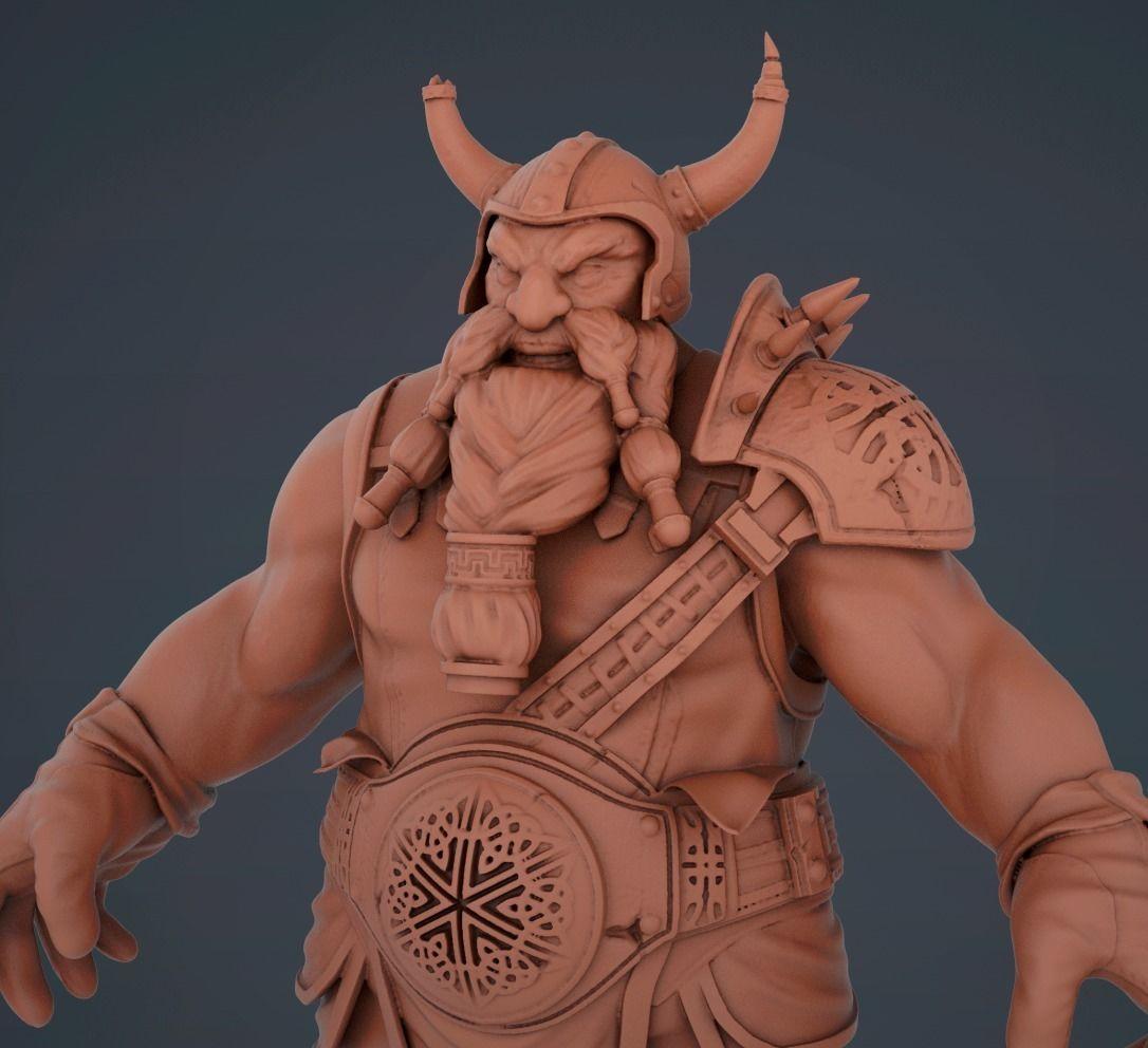 Dwarf warrior knight