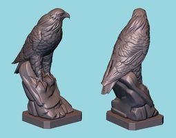 3D print model Hawk statue