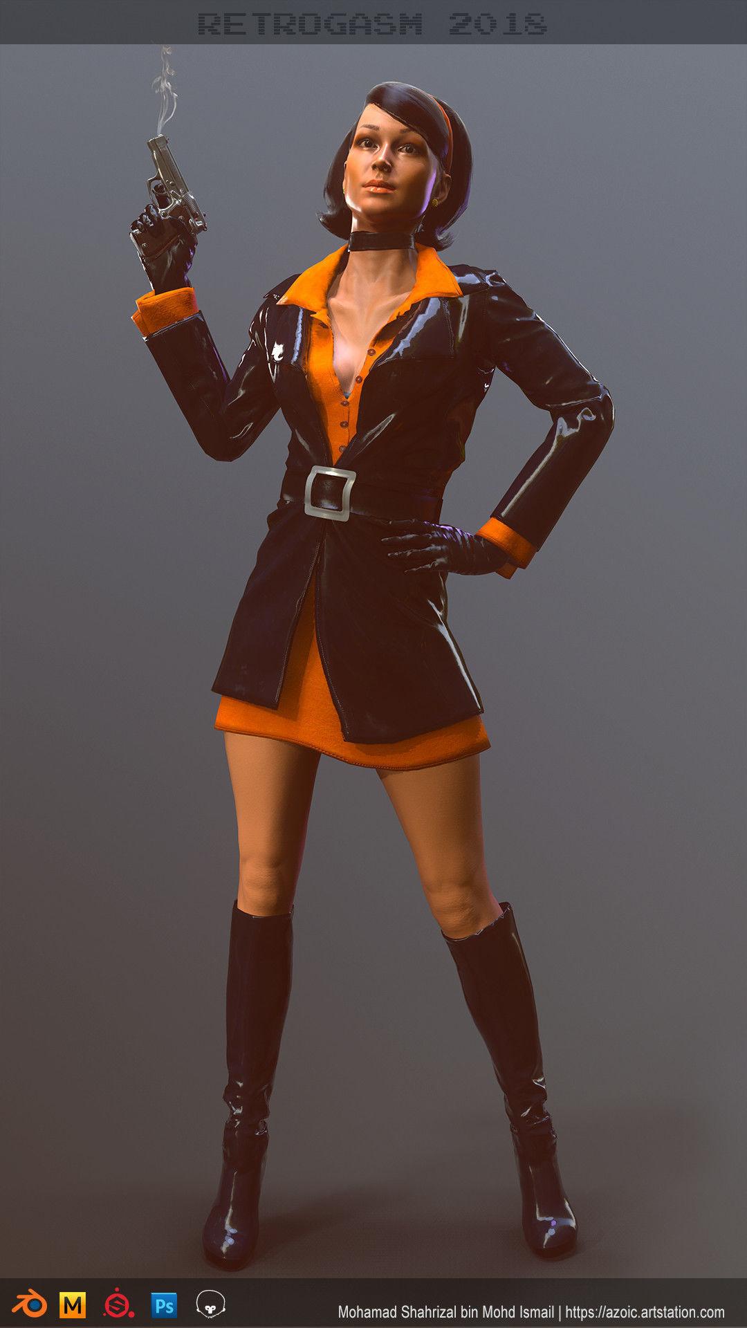 Female 60s Spy