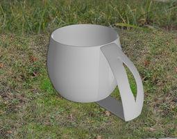 Tea cup 3D print model