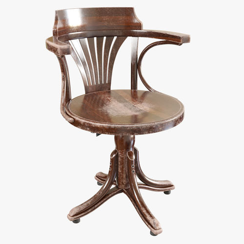ton armchair kontor old 3d model max obj mtl fbx 1