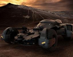 3D model The Batmobile