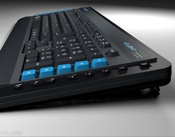 3D OCZ Alchemy Elixir Keyboard