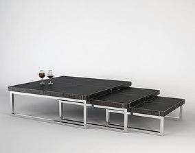 3D Fendi Journal Table