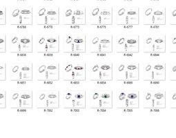 Collection- Bulk Rings-0046-3dm with stones-309 Files