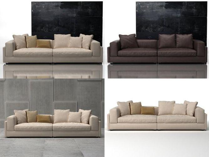alison sofa system 3d model max obj mtl fbx c4d skp gsm 1