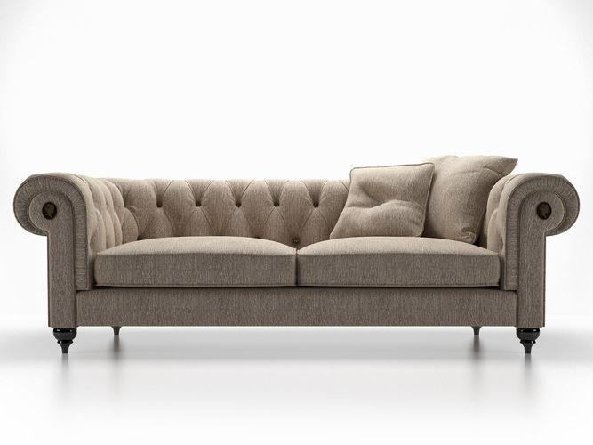 alfred sofa 3d model max obj mtl fbx skp mxs pdf 1