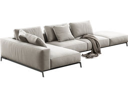 ettore modular sofa 3d model