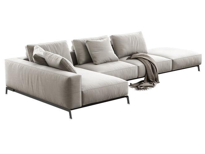 ettore modular sofa 3d model max obj mtl fbx c4d 3dm skp 1