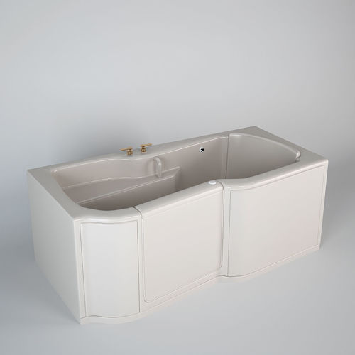 3D Kohler Bathtub For Disabled | CGTrader