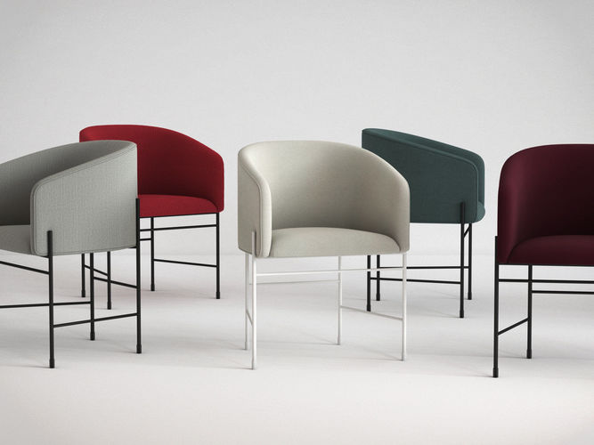 covent chair 3d model max obj fbx c4d 3dm dwg 1