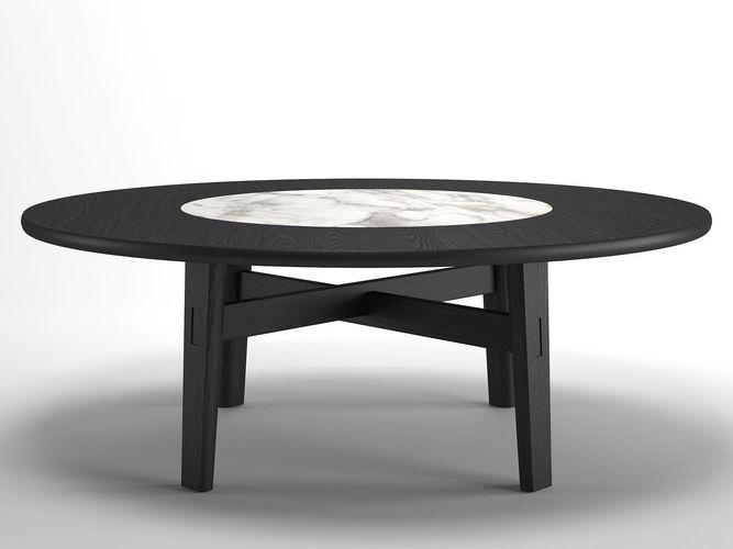 home hotel circular dining table 3d model max obj mtl fbx c4d dwg skp 1