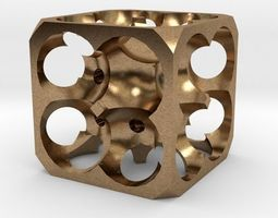 3D printable model toys Dice